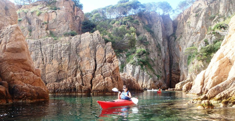 Kayaking in Catalonia