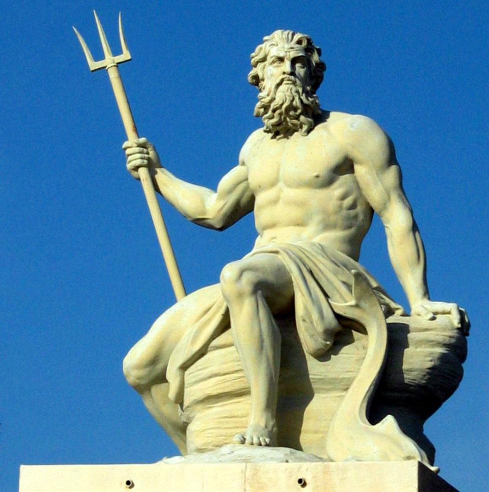 Neptune God of the Seas