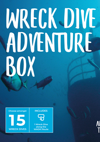 Wreck Dive Adventure e-Box