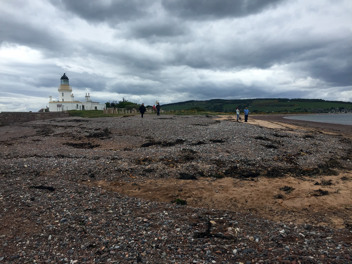 Chanonry Point in Inverness (The Highlands, Scotland, UK)