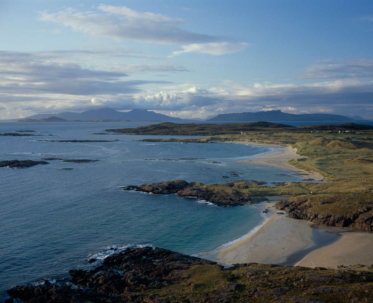 Eigg, Rum, Muck and Canna from Sanna Bay - Ardnamurchan (The Highlands, Scotland, UK)