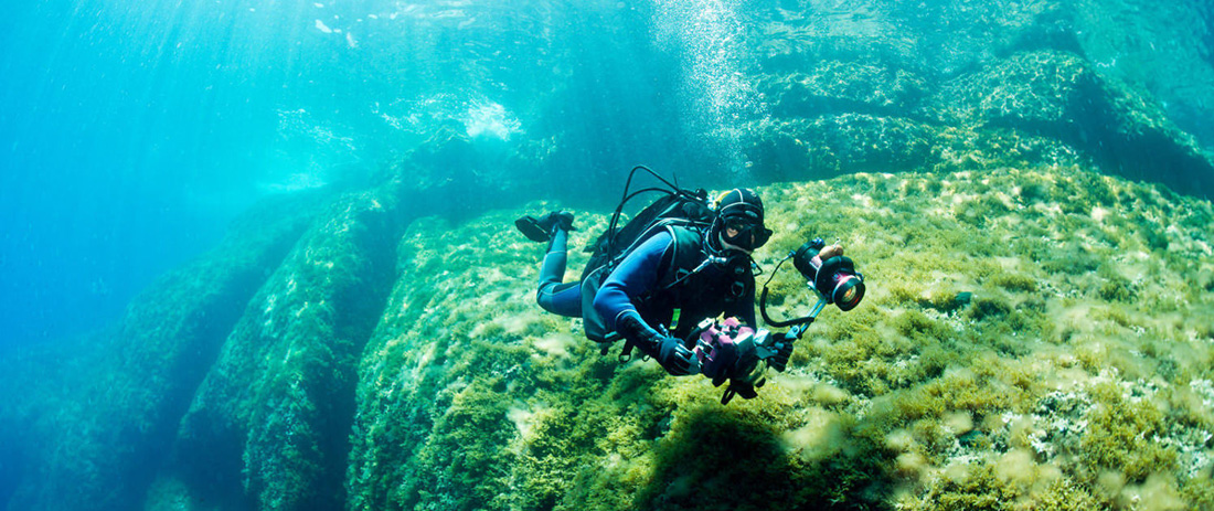 <p><strong>IT'S DIVING TIME!</strong></p> <p>DISCOVER MALLORCA UNDER THE SEA</p>