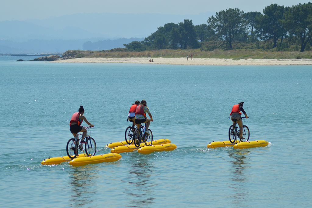 Sea Bike Tour in Ria de Arousa (Galicia, Spain)
