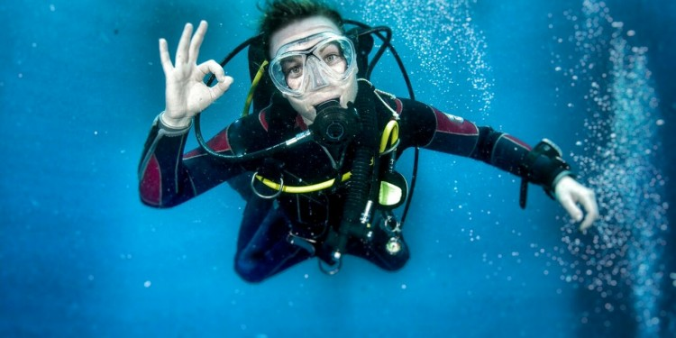SSI Try Dive with Anthia