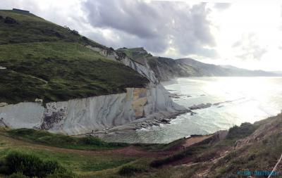 The flysch at the coastal Geopark in Zumaia (Basque Country, Spain)