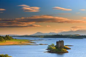 Scottish Castles and Sheltered Sea Lochs