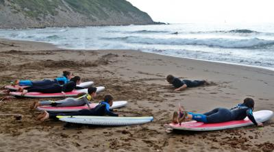 Surf Course for Beginners (Basque Country, Spain)