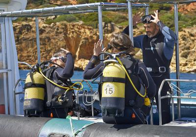 Discover Scuba Diving in Albufeira (Portugal)