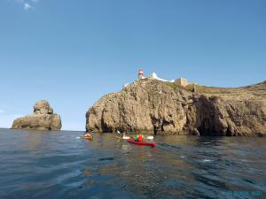 4-Day Sea Kayak Tour in the Algarve