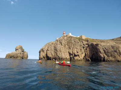 4-Day Sea Kayak Tour in the Algarve (Portugal)