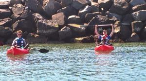 4-hour Food & Sea Kayaking Tour in Ballycastle