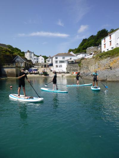 4-Day Marine Eco Guided SUP Tour in Cornwall (United Kingdom)