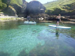 4-Day Marine Eco Guided SUP Tour in Cornwall