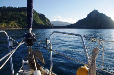 Sailing Week in the Cantabrian Sea (Basque country, Spain)