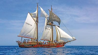 Sailing Adventure on board the Atyla Wooden Ship