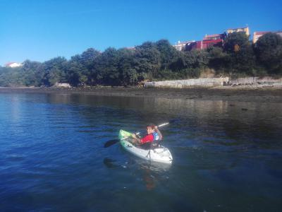 Kayak & SUP route in Cabana (Galicia, Spain)