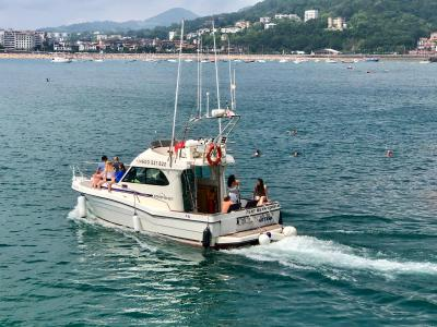 2-hour boat Tour in San Sebastian's Bay (Basque country, Spain)
