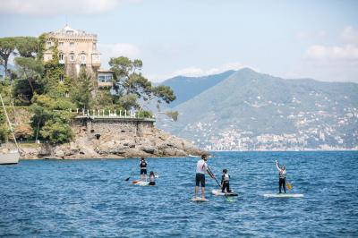 SUP Tour in Portofino Marine Protected Area (Liguria, Italia)