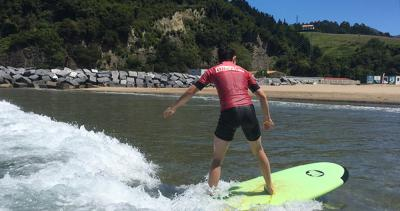 Surf Experience in Deba (Basque Country, Spain)<br>