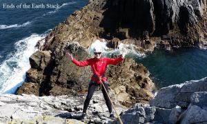 Sea Stack Climbing in Ireland